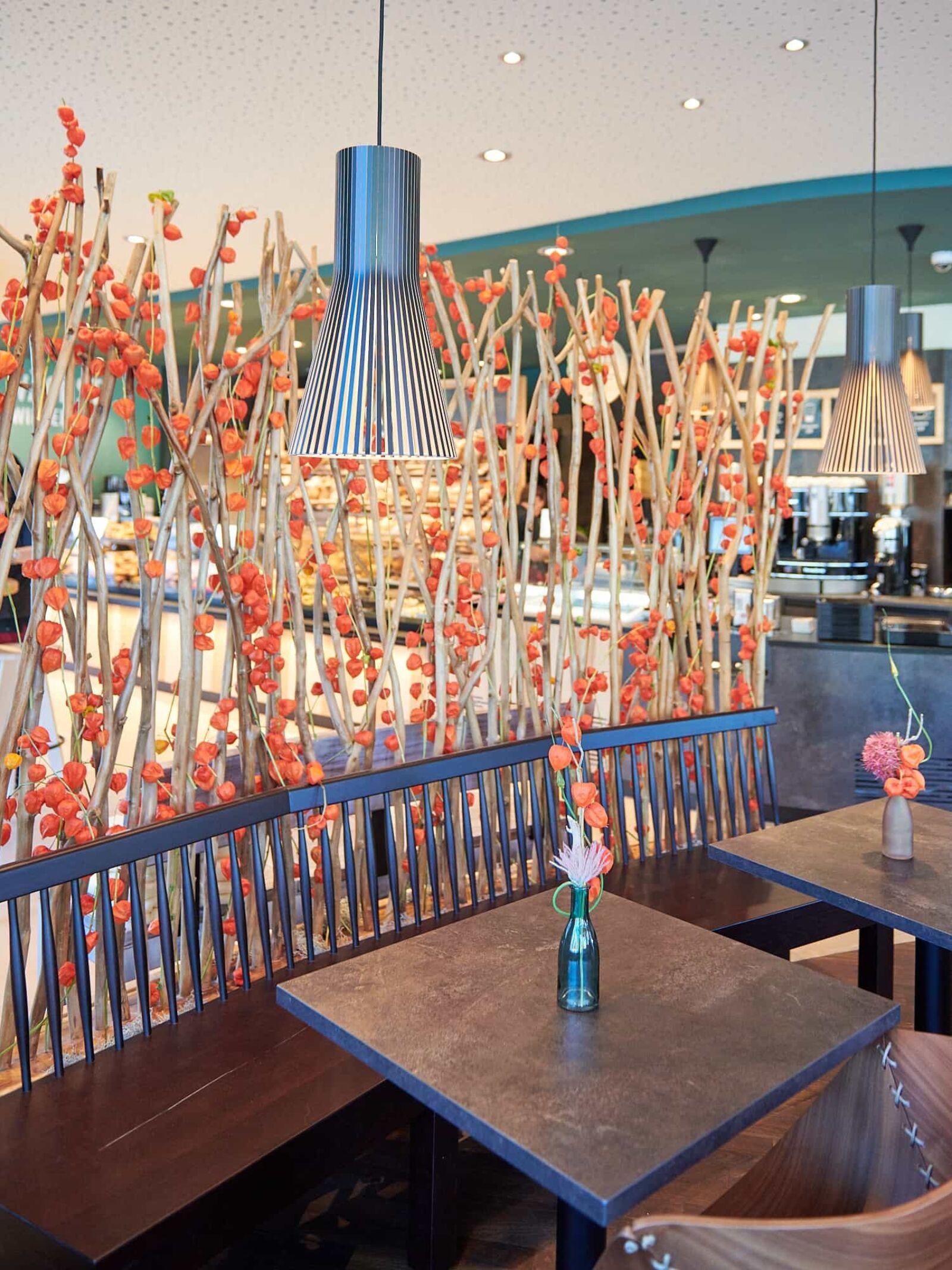 Lauschige Plätze im Kaffeehaus Burkard