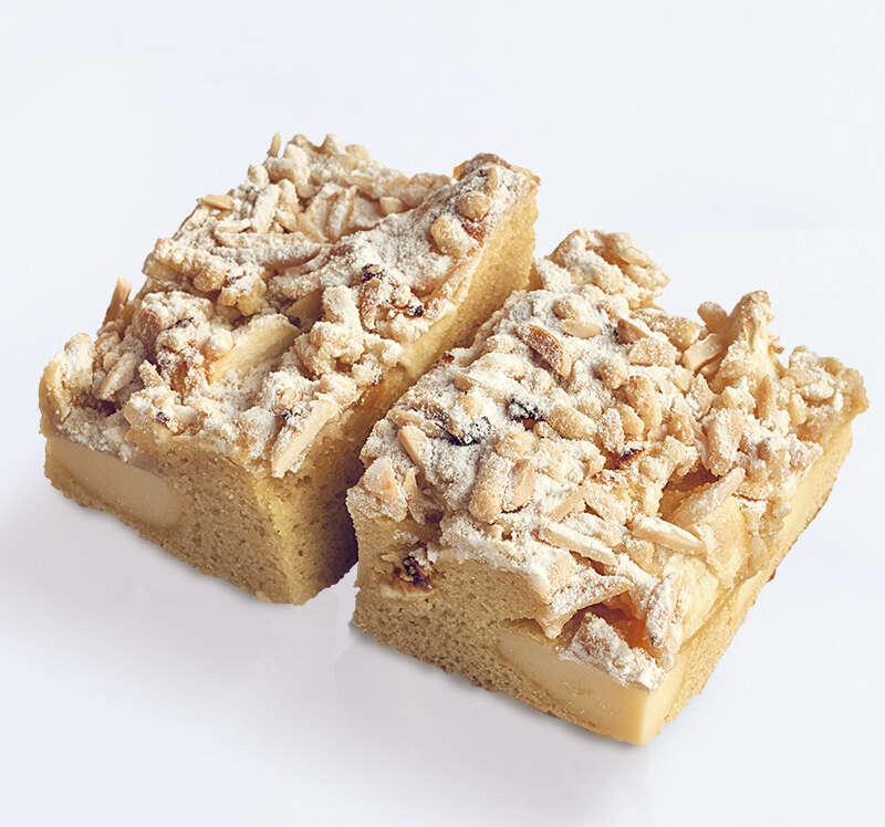 Apfel-Quark-Schnitte: Fruchtiger Kuchen auf Buttersandteig